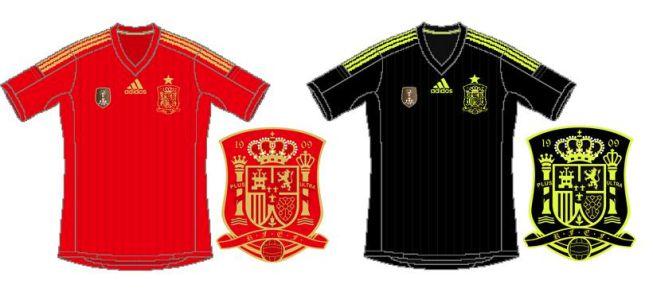 ¿Serán estas las camisetas de España para el Mundial 2014?
