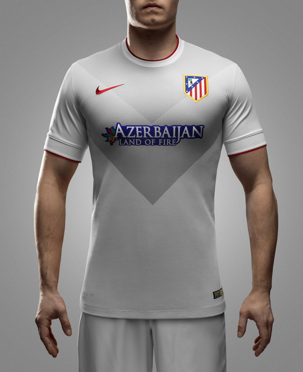 uniforme Atlético de Madrid futbol