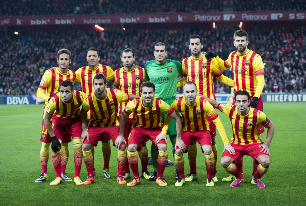 4b2f7b644c96b La Liga autoriza al Barça a jugar con la senyera ante el Athletic ...
