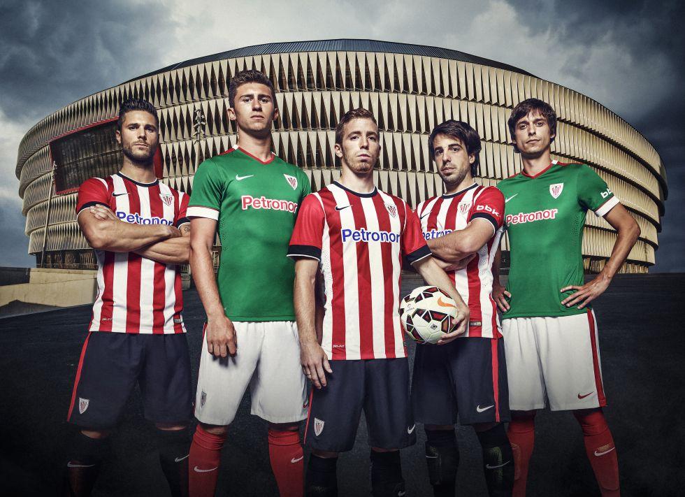 La segunda camiseta del Athletic mezcla los colores de la ikurriña ... 64c106575acf9