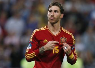 Sergio Ramos: 10 moments with La Roja
