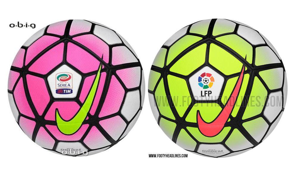 c287e23763d66 Así serán los balones de la Liga BBVA y la Serie A 2015 16 - AS.com