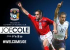 El Aston Villa cede a Joe Cole al Coventry City de 2ªB inglesa