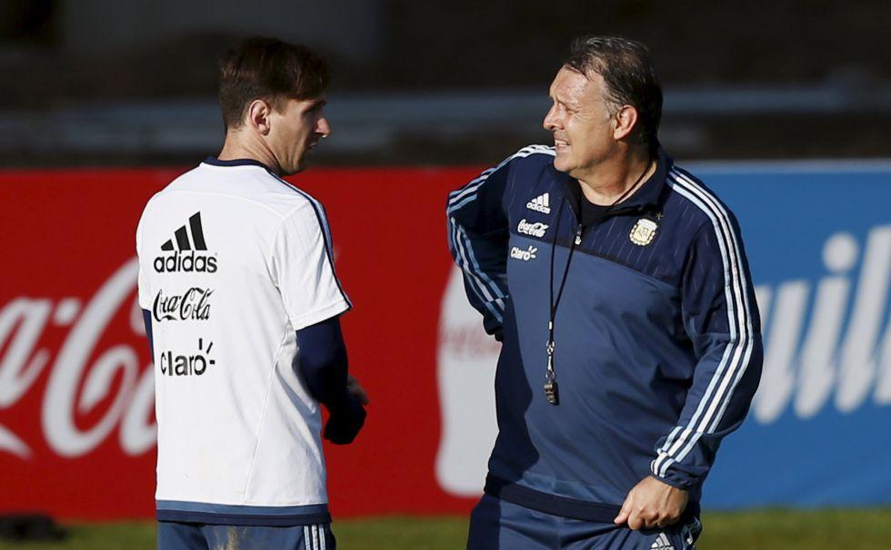 Martino descarta a Messi para los Juegos Olímpicos de Río - AS.com 70ee0ad1ceccb