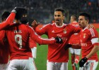 Late goals send Benfica into Champions League quarters