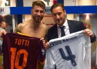Ramos and Totti exchange shirts: