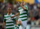Record: Atlético keeping tabs on Sporting's Slimani