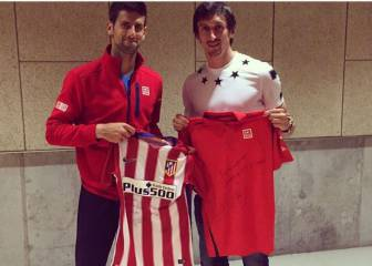 Atleti's Savic recruits Djokovic to the Rojiblanco cause