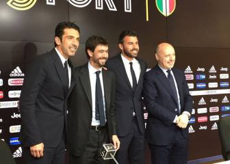 Buffon, hasta 2018: