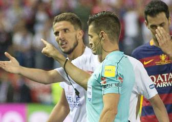 Sevilla's Carriço in hot water for calling Cup final ref