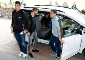 Iker, De Gea and Spain's Barça players to watch final together