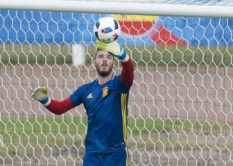 Uefa rules prevent Spain replacing De Gea if he goes