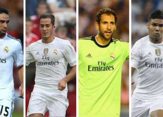 7 players who returned to Madrid for the sum of €29.5M
