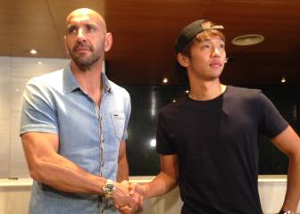 Kiyotake to take Maradona's No.10 shirt at Sevilla