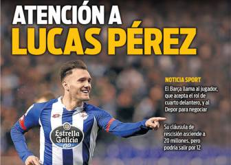Barcelona linked with swoop for Deportivo's Lucas Pérez