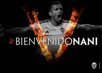 Valencia sign Nani for €8.5m on three-year deal