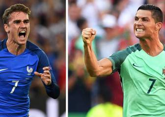 Protugal vs Francia en Vivo Online: Final de Eurocopa 2016