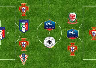 Ronald Koeman elige su once ideal de la Eurocopa