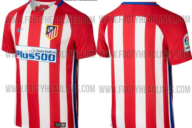 san francisco 92ae4 44cdf Are these the first images of Atlético Madrid shirt for 2016 ...