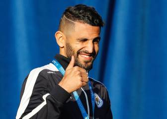 France Football: Mahrez dice no al Leicester y ya suena el Barça