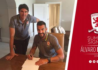 Middlesbrough confirm deal for striker Álvaro Negredo
