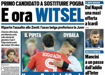 Juve target Witsel or Matic as replacements for Pogba