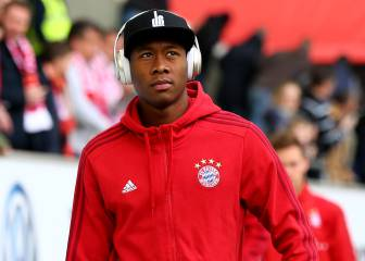 Real Madrid return again for David Alaba with €65m bid