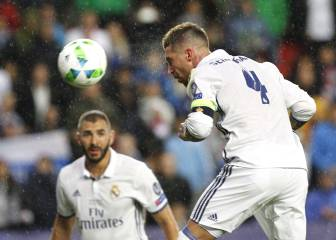 Ramos tops list of defenders to have scored in European finals