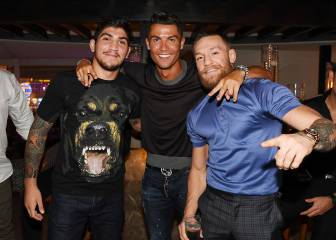 Conor McGregor lets slip that Cristiano has renewed with Madrid