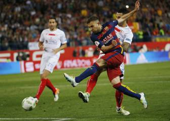 Jordi Alba, Samper and Douglas omitted from the list