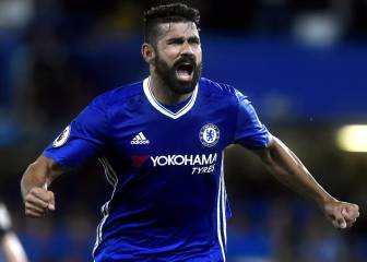 Conte defends Costa who deals late Hammer blow