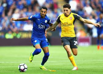 Leicester y Arsenal no arrancan