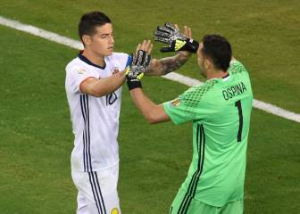 Ospina, el cuñado de James, intenta que fiche por el Arsenal