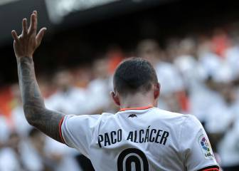 Valencia not keen to sell Alcácer, but Barça won't let go