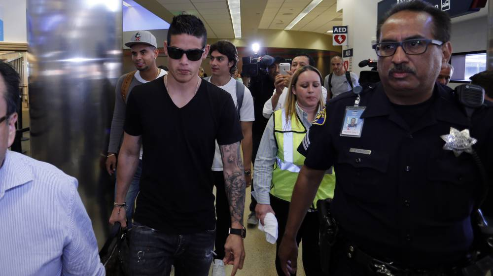 James Rodríguez looking for house in Turin, says estate agent