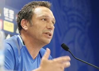 Eusebio hails Canales return and deems the squad closed