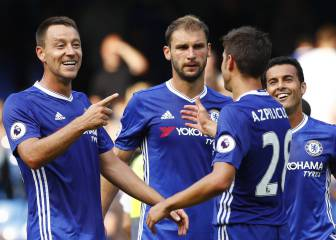 Moses, William y Hazard dan la victoria a un superior Chelsea
