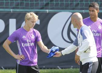 Odegaard: express loan to Spanish club or stay at Castilla
