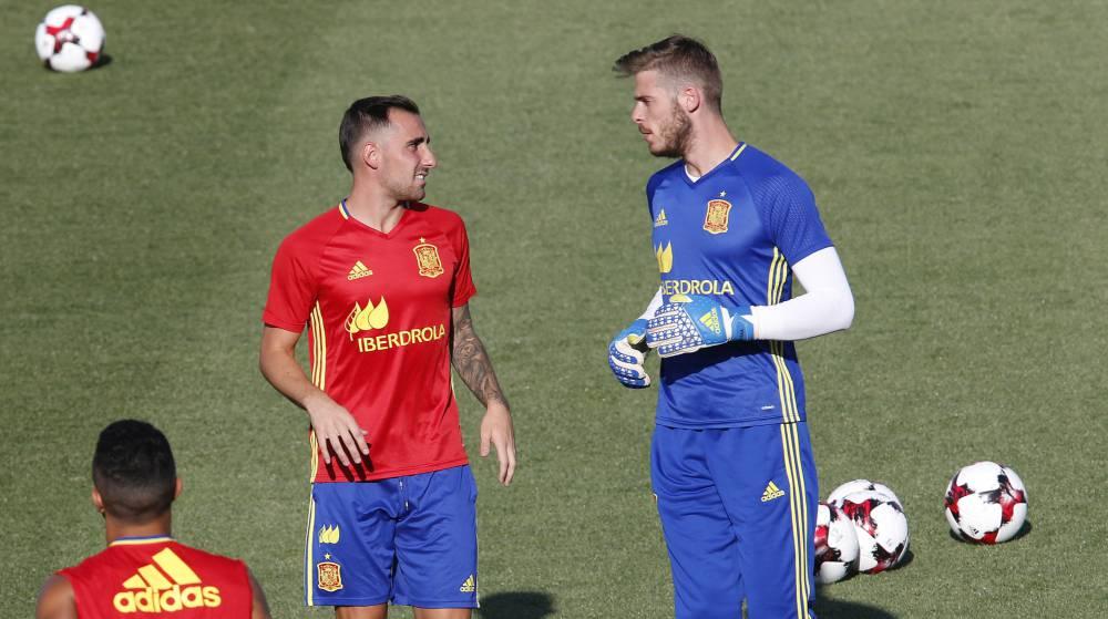 d43371c7fb567 Selección  Los dorsales de España  De Gea