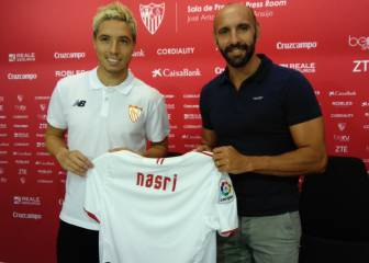I want to get back to my best at Sevilla, declares new boy Nasri