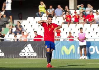 Munir and Santi Mina on target as Spain ravage San Marino