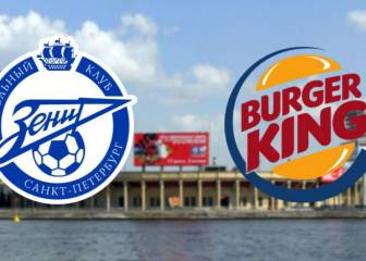 Surely a Whopper? Zenit refuse Burger King name change offer