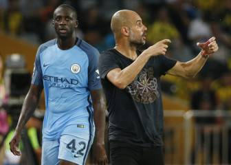 Guardiola excluyó a Yayá Touré de la Champions League