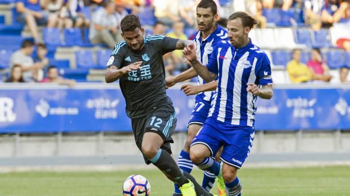 Alavés vs Real Sociedad: Un gol de Raúl García da el derbi ...
