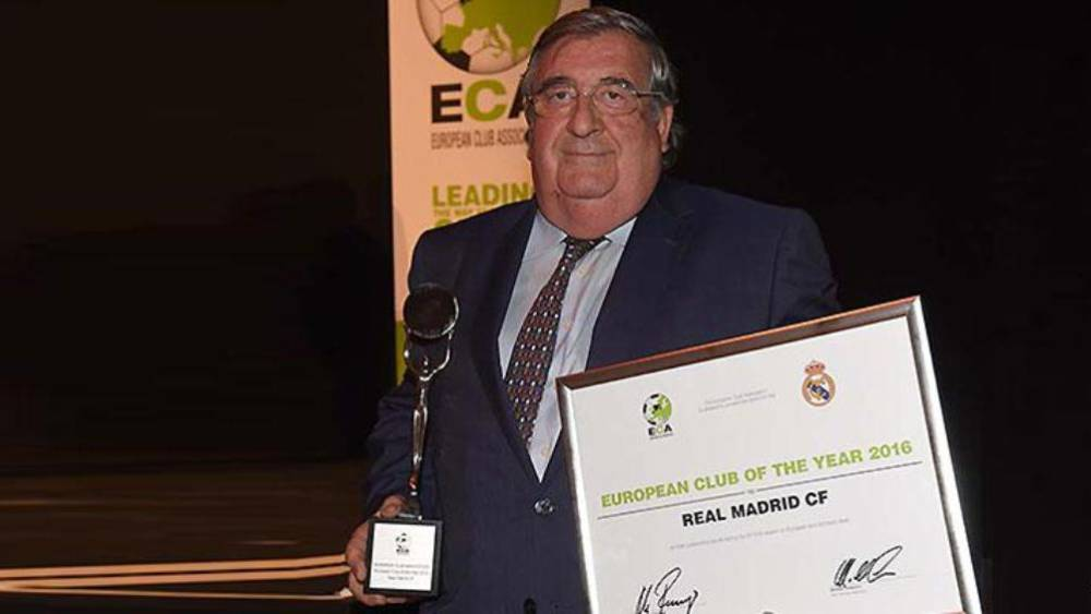 La ECA premia al Madrid como mejor club europeo de 2016