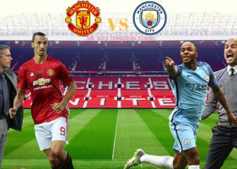 Las 6 claves del United-City: Mourinho, Guardiola, Ibra...