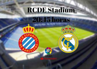 Espanyol vs Real Madrid en vivo y en directo online