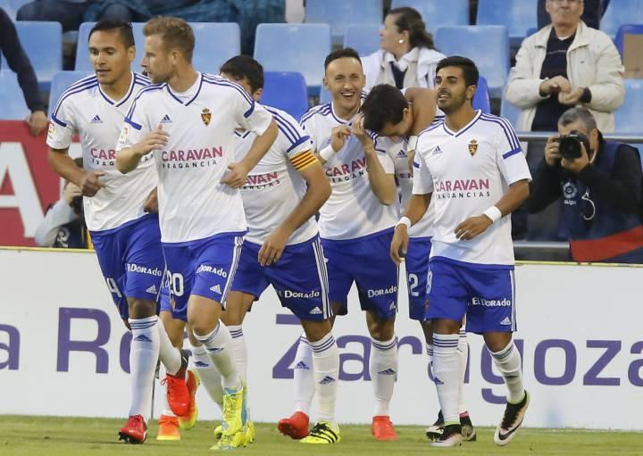 Real Zaragoza El Zaragoza A Encadenar Cuatro Triunfos En La