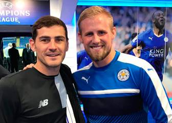 Schmeichel thrilled to meet Casillas