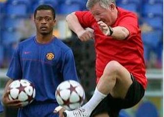 Evra pokes fun at Ferguson in light-hearted Instagram post